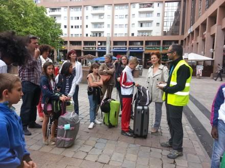 Accueil en gare de Lyon Part-Dieu