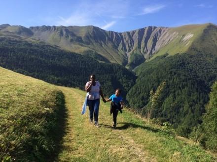 balade en montagne en séjour adapté