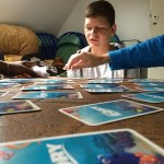 un jeu de mémory pendant le séjour de vacances adaptées