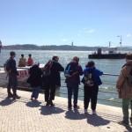 balade au bord du Tage pendant le séjour de vacances adaptées à l'étranger